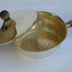 Micuta LEGUMIERA / CRATICIOARA argintata, Vas