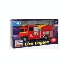 Masina de pompieri Scara Magirus cu lumini si sunete - scara 1:48 - Macheta auto