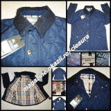 GEACA OFFICE 3XL BLEUMARIN BARBATI FIRMA BURBERRY MATLASATA GULER REIAT NEW