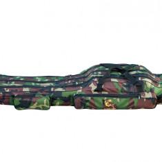 Geanta (husa ) lansete 3 compartimente Old Camouflage 125 cm Baracuda B2
