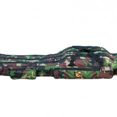 Geanta (husa ) lansete 3 compartimente Old Camouflage 125 cm Baracuda B2