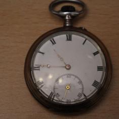 Ceas de buzunar - CEAS VECHI DE BUZUNAR -SWISS MADE-REMONTOIR CYLINDRE 10 RUBINE-D=4, 8CM