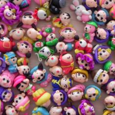 Margele polymer clay cu diverse personaje de poveste