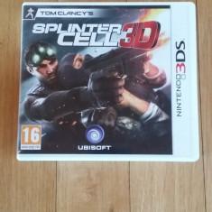 Jocuri Nintendo 3DS, Shooting, 16+, Single player - JOC NINTENDO 3DS TOM CLANCY's SPLINTER CELL 3D ORIGINAL / by WADDER