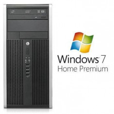 Sisteme desktop fara monitor - PC Refurbished HP 6200 Pro MT i5 2310 Win 7 Home