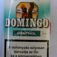 Tutun - Domingo menthol 40g ( Zona Tineretului-Timpuri Noi) Numai Bucuresti.