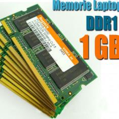 Memorie RAM laptop, DDR, 1 GB - Memorie Laptop DDR1 1GB FSB 400/333 Testate Garantie 6 Luni
