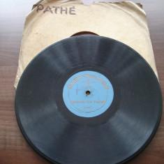 Placa gramofon/patefon - concert de xylofon