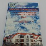 Carti Constructii - INDICATOR DE NORME DE DEVIZ PENTRU LUCRĂRI DE REPARAȚII LA INSTALAȚII ELECTRICE