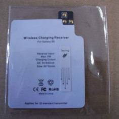 QI Wireless Charger Charging Reciever Card for Samsung Galaxy S5 - Camera Video Samsung