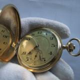 Ceas aur solid 14K 1920 Benoit - Ceas de buzunar vechi