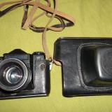 aparat de fotografiat de colectie KMZ Zenit E obiectiv Helios 44/2