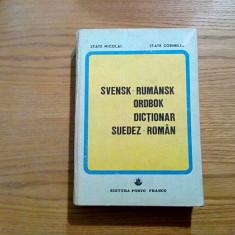 DICTIONAR SUEDEZ - ROMAN - State Nicolai, State Cornelia - 1990, 492 p. Altele