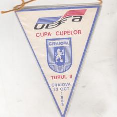 Bnk fn Fanion Universitatea Craiova Dinamo Kiev Cupa Cupelor 1985