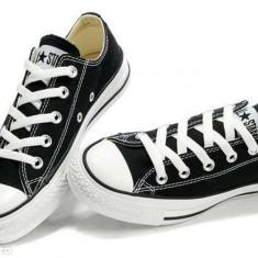 Converse All Star clasic - Tenisi barbati Converse, Marime: 36, 37, 38, 39, 40, 41, 42, 43, 44, Culoare: Negru, Textil