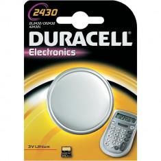 1x Duracell CR2430 lithium battery BL089 - Baterie Aparat foto