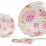 Set tort 8 piese Pink Rose
