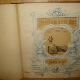 PARTITURA MUZICALA VECHE -GANDUL MEU LA MINE SBORA -VALT PENTRU PIANO