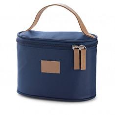 Geanta pentru cosmetice albastra - Geanta cosmetice