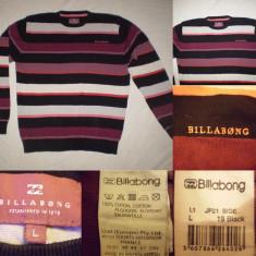 Pulover barbati - Pulovar BILLABONG negru (L) barbati Bluza Cardigan casual sport marime
