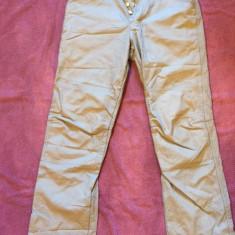 Pantaloni grosi de dama CALVIN KLEIN CK W31 L34 - Pantaloni dama Calvin Klein, Marime: Alta, Culoare: Gri, Lungi, Bumbac