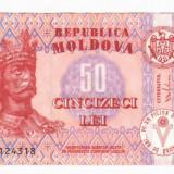 bancnota europa, An: 2013 - SV * Moldova 50 LEI 2013 XF+