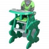 Scaun de masa bebelusi Caretero - Scaun de Masa Primus green