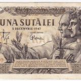 Bancnota 100 lei 5 decembrie 1947 (1), An: 1947