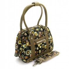 Troller - Geanta de dama LAMONZA Cosmo negru 38 cm