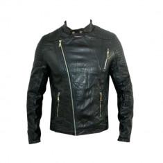 Geaca Barbati Zara David BeckhamPrimavara Jappan Cod Produs 9193, Marime: L, XL, XXL, Culoare: Negru, Piele