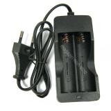 Lanterna - Incarcator Dublu Li-ion Pentru Acumulatori Li-ion 18650
