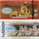 LA SAVANNA- 10000 FRANCS 2016- UNC!! - bancnota africa