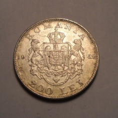 200 lei 1942 2 - Moneda Romania