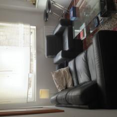 Canapea piele 3 locuri Mobexpert