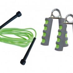 Aparat multifunctionale fitness - Set Fitness, Schildkrot Fitness, Gantere + Greutati + Flexori + Coarda de sarit