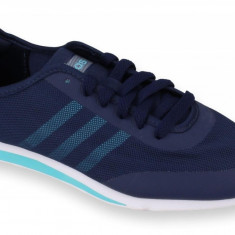 Adidasi barbati - Pantofi Sport Femei, Adidas, Stil Racer TM, Bleumarin-36 2/3