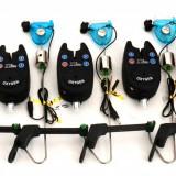 Set 5 Avertizori TLI 01 camou Marca Oxygen Si 5 Swingeri mkm2 - Avertizor pescuit