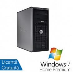 Sisteme desktop fara monitor - Dell Optiplex 360, Intel Dual Core E5200, 2.5 Ghz, 2Gb, DDR2, 160GB, DVD-RW + Windows 7 Home Premium