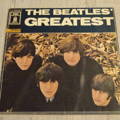 Disc vinil The Beatles - Beatles' Greatest - Muzica Rock