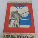 Carti Transporturi - MERSUL TRENURILOR 1992-1993