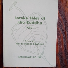 Jataka tales of the Buddha part I, II, III, IV - Carti Budism