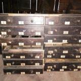 Dulap / dulapior cu sertare -cred farmacie - stare deteriorata - lipsa un sertar