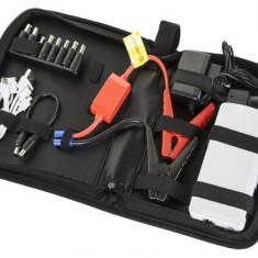 Baterie externa, iPhone 6 - Power bank 12AH M-Life Kit Acumulator extern pornire auto 19V 16V 12V 5V