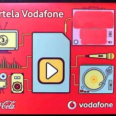 CARTELA VODAFONE 3G COCA COLA EDITIA 2013 -COMPATIBIL PENTRU IPHONE CU GEVEY