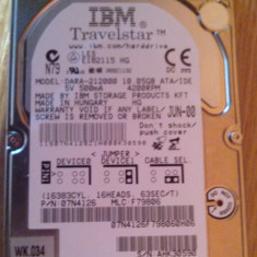 HDD 10GB - HDD laptop Ibm, Sub 40 GB, Rotatii: 4200