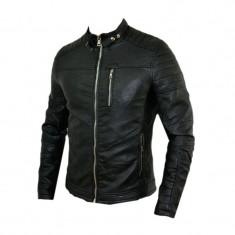 Geaca barbati Zara, Piele - Geaca Zara Man Model Casual SlimFit Imblanita Cod Produs 9108
