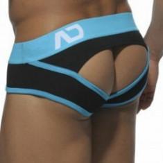 Suspensor / Jockstrap ADDICTED - model 2 - diferite culori si marimi - Chiloti barbati, Marime: M, L, Culoare: Albastru, Galben