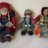 Papusa de colectie - Trei papusi ceramica