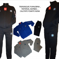 Trening barbati Puma, Bumbac - TRENINGURI PUMA/BMW, BUMBAC, MODEL 2016, LIVRARE GRATUITA