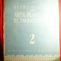 Mapa II- 10 Reproduceri din Arta Plastica Romaneasca, unele inedite, detasabile